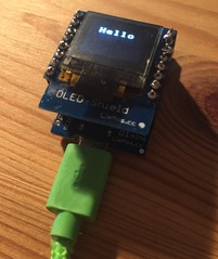 This and That – Wemos OLED Shield